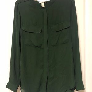 H&M: Long-sleeved, button down blouse